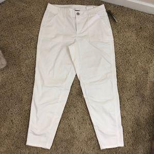 BNWT Lane Bryant White Skinny Jeans
